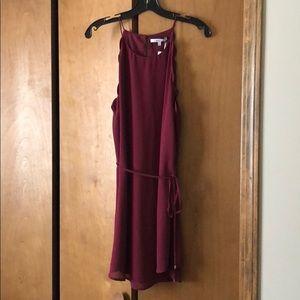 Burgundy dress size Large